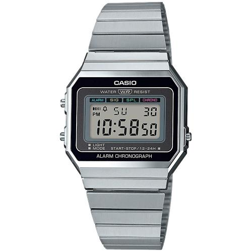 CASIO Collection Stainless Steel Bracelet A-700WE-1AEF