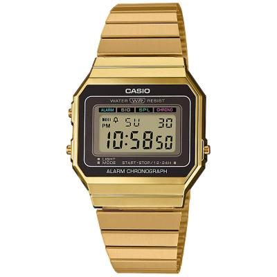 CASIO Collection Gold Stainless Steel Bracelet A-700WEG-9AEF