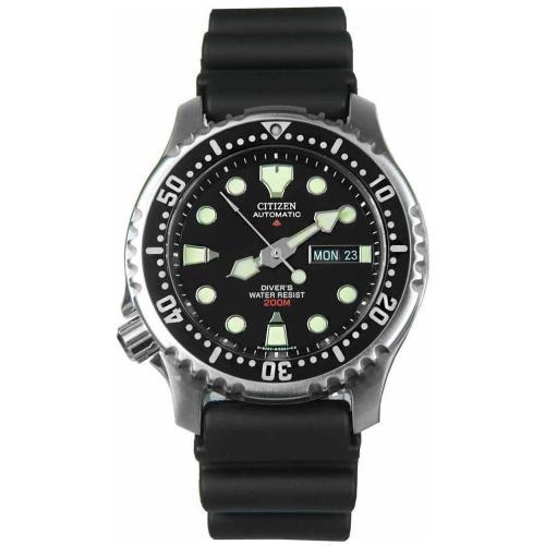 CITIZEN Promaster Diver Automatic Black Rubber Strap NY0040-09E