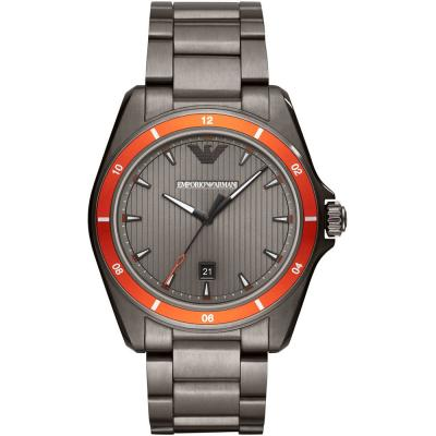 EMPORIO ARΜΑΝΙ Sigma Grey Stainless Steel Bracelet AR11178