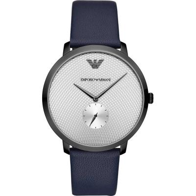 EMPORIO ARMANI Blue Leather Strap AR11214