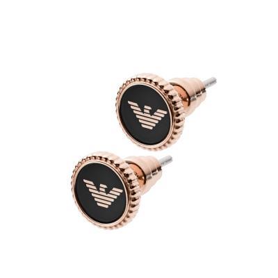 EMPORIO ARMANI Γυναικεία Σκουλαρίκια από Ροζ Επιχρυσωμένο Ατσάλι EGS2534221