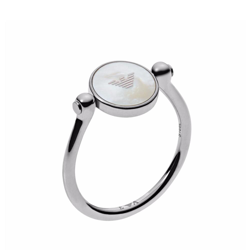 EMPORIO ARMANI Γυναικείο Δαχτυλίδι από Ανοξείδωτο Ατσάλι EGS2159040