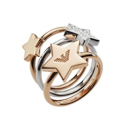 EMPORIO ARMANI Γυναικείο Δαχτυλίδι από Ασήμι EG3366221
