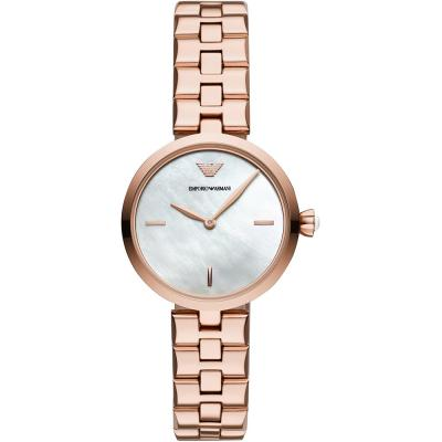 EMPORIO ARMANI Arianna Rose Gold Stainless Steel Bracelet AR11196