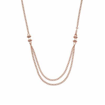 EMPORIO ARMANI Γυναικείο Koλιέ από Ροζ Επιχρυσωμένο Ατσάλι EGS2096221