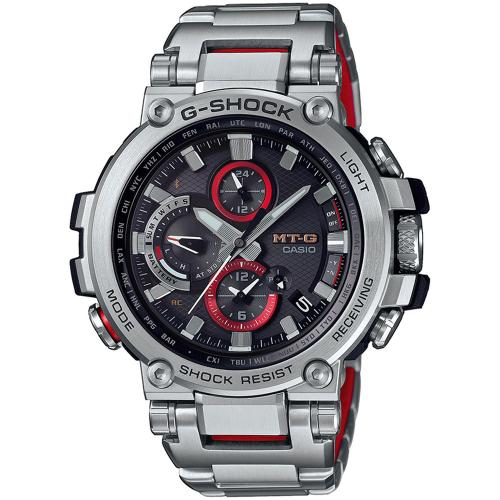 CASIO G-SHOCK Bluetooth Stainless Steel Bracelet MTG-B1000D-1AER