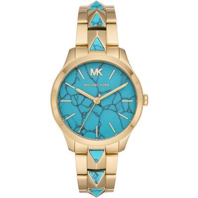 Michael KORS Runway Gold Stainless Steel Bracelet MK6670