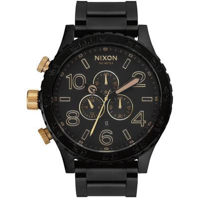 NIXON 51-30 Black Stainless Steel Chronograph A083-1041