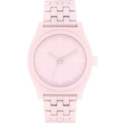NIXON Time Teller Pink Stainless Steel Bracelet A045-3164
