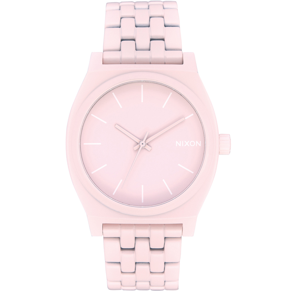 NIXON Time Teller Pink Stainless Steel Bracelet A045-3164
