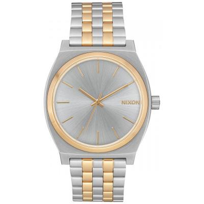 NIXON Time Teller Two Tone Stainless Steel Bracelet A045-1921