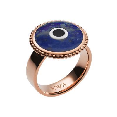 EMPORIO ARMANI Γυναικείο Δαχτυλίδι από Ροζ Επιχρυσωμένο Ανοξείδωτο Ατσάλι EGS2521221