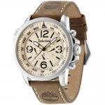 TIMBERLAND Campton Brown Leather Strap 13910JS-07ABR