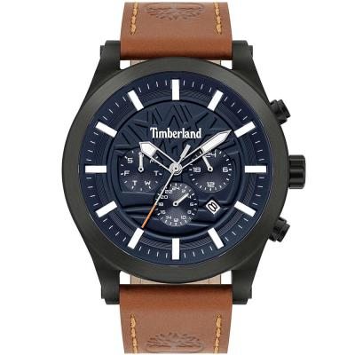TIMBERLAND Hardwick Brown Leather Strap 15661JSB-03