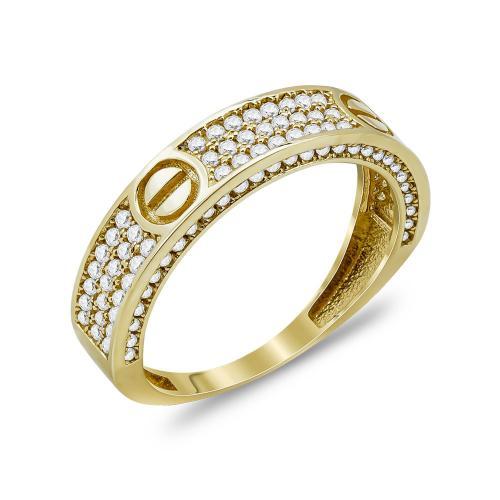 Δαχτυλίδι Με Πέτρες Από Κίτρινο Χρυσό Κ14 DX00825Δαχτυλίδι Με Πέτρες Από Κίτρινο Χρυσό Κ14 DX00825