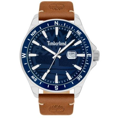 TIMBERLAND Swampscott Brown Leather Strap 15941JYTBL-03