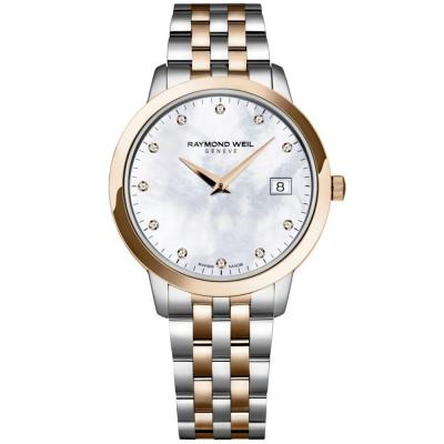 RAYMOND WEIL Τoccata Two Tone Stainless Steel Bracelet 5388-SP5-97081