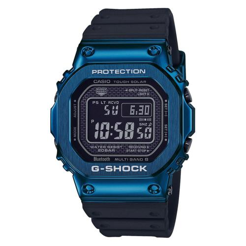 CASIO G-Shock Bluetooth Solar Radio Controlled Black Rubber Strap GMW-B5000G-2ER