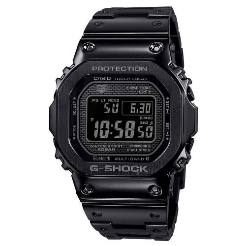 CASIO G-SHOCK 35th Anniversary Solar Chronograph Black Stainless Steel Bracelet GMW-B5000GD-1ER