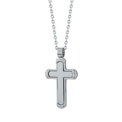 Visetti Ανδρικός Σταυρός από Ατσάλι AST198