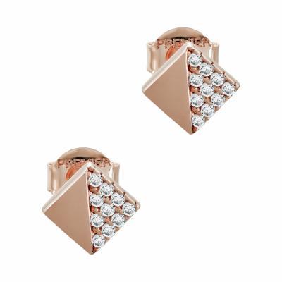 Σκουλαρίκια Με Πέτρες Από Ροζ Χρυσό Κ14 SK05181