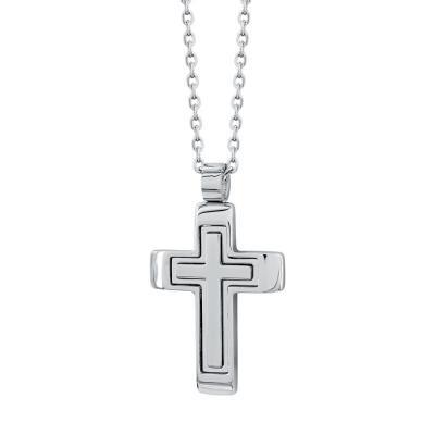 Visetti Ανδρικός Σταυρός από Ατσάλι AST190