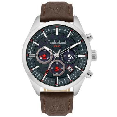 TIMBERLAND Thurlow Solar Brown Leather Chronograph 15950JYS-03