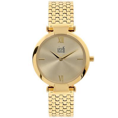 VISETTI Sonata Gold Stainless Steel Bracelet WN-359GG