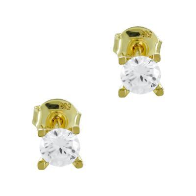 Σκουλαρίκια Με Πέτρες Από Κίτρινο Χρυσό Κ14 SK05018