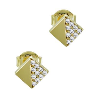 Σκουλαρίκια Με Πέτρες Από Κίτρινο Χρυσό Κ14 SK05179