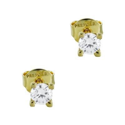 Σκουλαρίκια Με Πέτρες Από Κίτρινο Χρυσό Κ14 SK02684