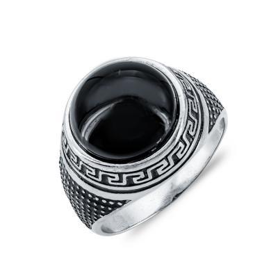 Ανδρικό Δαχτυλίδι από Ασήμι ADX153