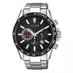 CITIZEN Eco-Drive Chronograph Silver Stainless Steel Bracelet CA4444-82E
