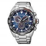 CITIZEN Promaster Land Eco-drive Chronograph Silver Stainless Steel Bracelet CB5034-82L