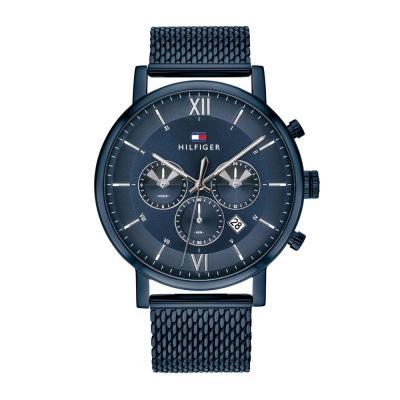 Tommy HILFIGER Evan Blue Stainless Steel Bracelet 1710397