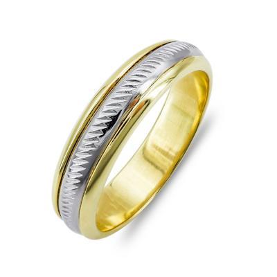 Ανδρικό Δαχτυλίδι από Κίτρινο Χρυσό K14 ADX143