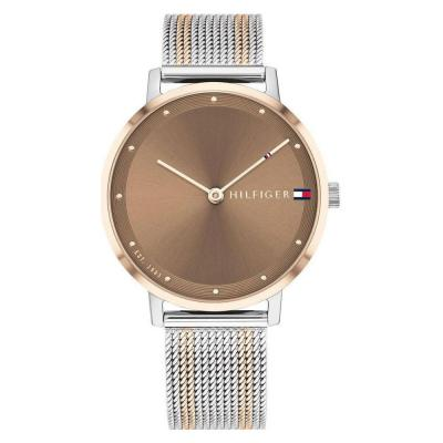 Tοmmy HILFIGER Pippa Rose Gold and Silver Stainless Steel Bracelet 1782152