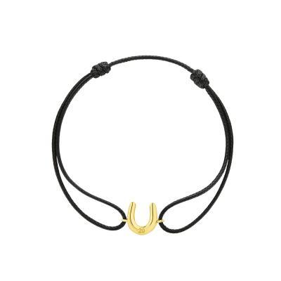 HONOR Βραχιόλι Από Ασήμι Lucky Charm Gold SB113Y