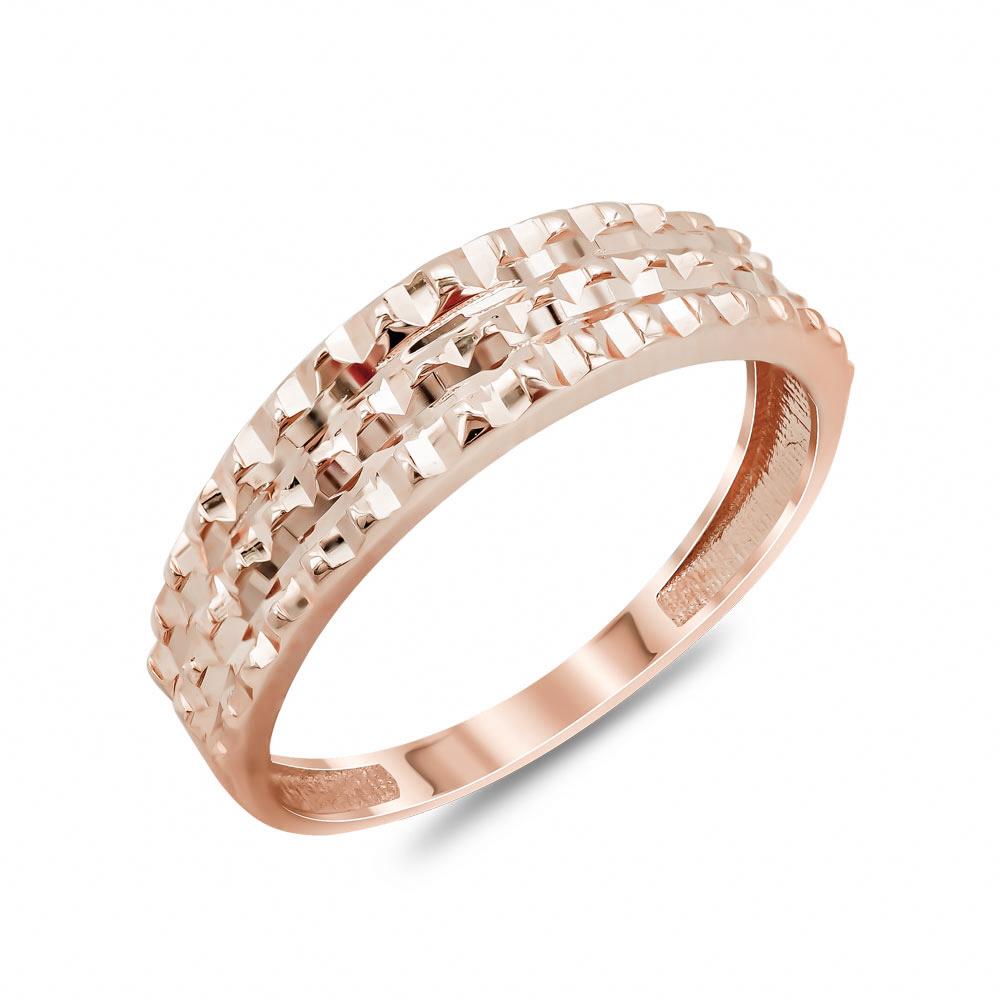 Δαχτυλίδι Φαρδύ Από Ροζ Χρυσό Κ14 DX04648