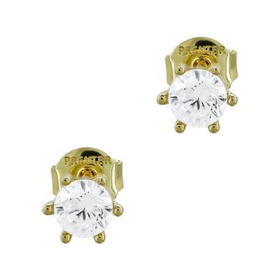 Σκουλαρίκια Με Πέτρες Από Κίτρινο Χρυσό Κ14 SK02690