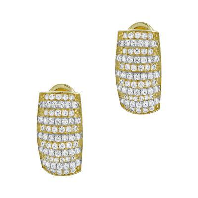 Σκουλαρίκια Με Πέτρες Από Κίτρινο Χρυσό Κ14 SK00427