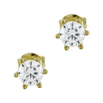 Σκουλαρίκια Με Πέτρες Από Κίτρινο Χρυσό Κ14 SK02687