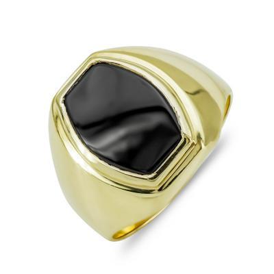 Ανδρικό Δαχτυλίδι από Κίτρινο Χρυσό K14 ADX139