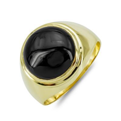 Ανδρικό Δαχτυλίδι από Κίτρινο Χρυσό K14 ADX140