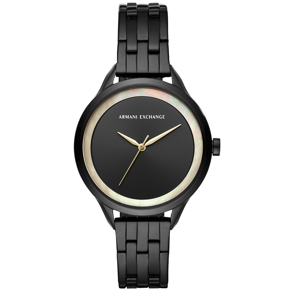 ARMANI EXCHANGE Harper Black Stainless Steel Bracelet AX5610