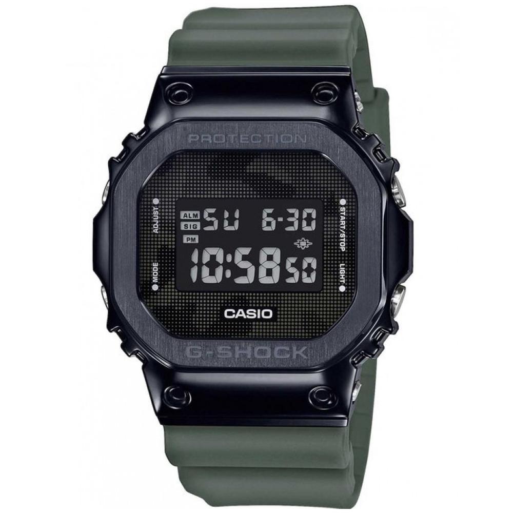 CASIO G-SHOCK Chronograph Khaki Rubber Strap GM-5600B-3ER