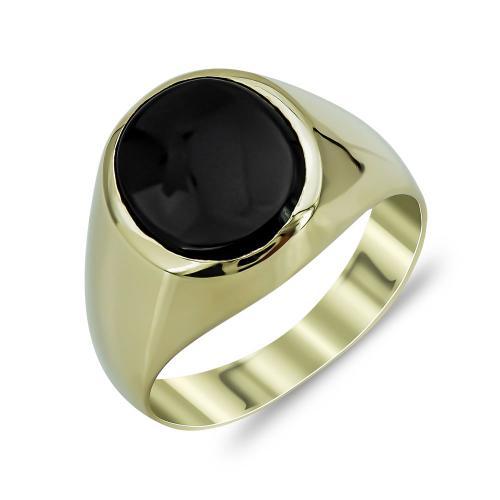 Ανδρικό Δαχτυλίδι από Κίτρινο Χρυσό K14 ADX144
