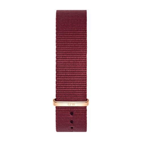 DANIEL WELLINGTON Classic Ruby Red Roselyn 36mm Rose Gold