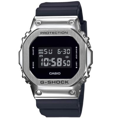 CASIO G-SHOCK Chronograph Black Rubber Strap GM-5600-1ER
